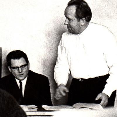 Lionginas Abarius ir Rimvydas Žigaitis