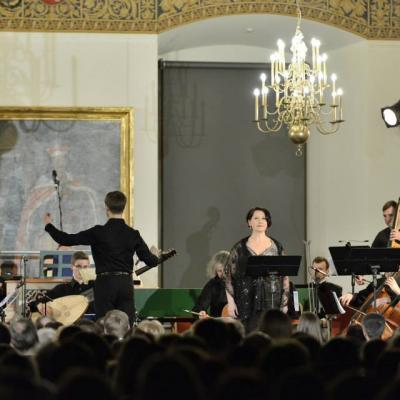 Baroko Operos Teatro prisistatymas/Valdovų rūmai 2014 m. kovas