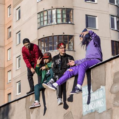 """Grupė """"Flying Saucer Gang"""". Renginio organizatorių nuotrauka"""