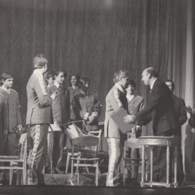 5 metų jubiliejus 1972 m.