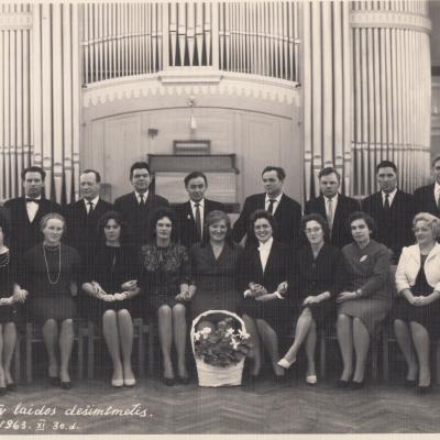 IV laidos dešimtmetis. 1963 11 30