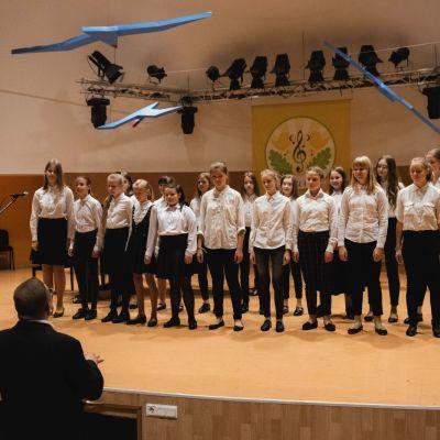 """""""Gaidų pynė'2019"""" baigiamasis koncertas. Luko Kodžio nuotraukos"""