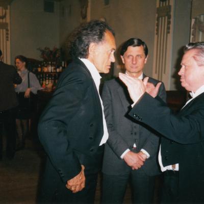 Su J. Antanavičiumi 1997 m.