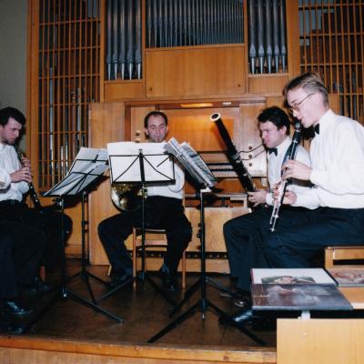 Studentų koncertas 1997 m.
