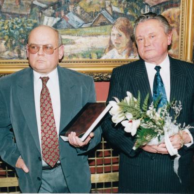 Su A. Vizgirda 1998 m.