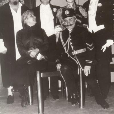 """Kunigaikštis Orlovskis, J. Strauss """"Šikšnosparnis"""" 1979"""