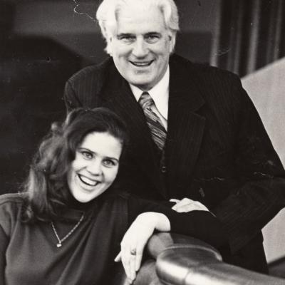 Su tėvu Jonu Stasiūnu