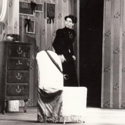 """Popova, W. Walton """"Meška"""" 1981. Foto V. Gradeckas"""
