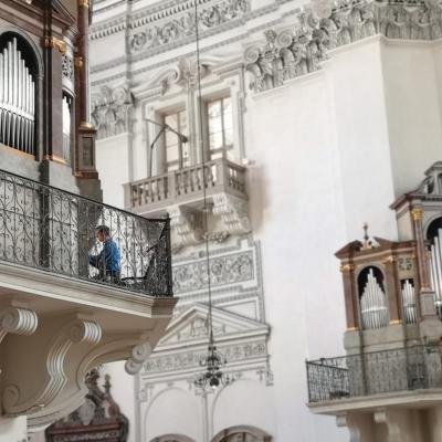 Zalcburgo katedros vargonai. Asm. nuotr.