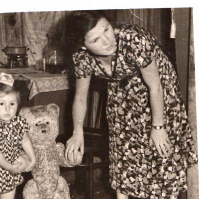 2.Su mama ir meškinu Panevėžyje.