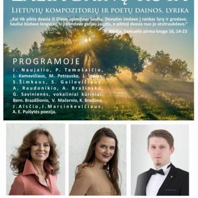 Lietuvių kompozitorių dainos ir lyrika ,,Žalia dainų rūta
