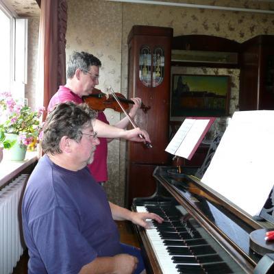 Repetuojame A. Šenderovo koncertą 2007 m.