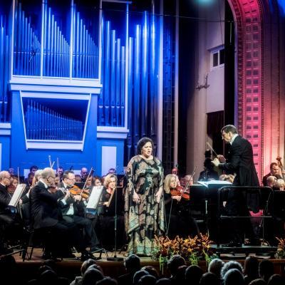 2016-10-30. Lietuvos nacionalinėje filharmonijoje UNESCO 25-metis. D. Matvejevas© LNF archyvas