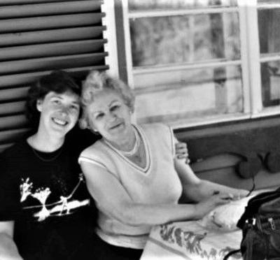 Gražina su dukra Birute, 1993