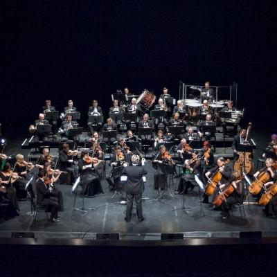 T. Ambrozaitis ir KVMT orkestras. Olesios Kasabovos nuotr.
