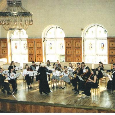 """""""Vyturio"""" kamerinis orkestras. 1998 m."""