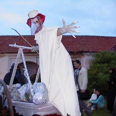 """vokalinė-choreografinė misterija """"Praregėjimas"""", Tytuvėnai 2005"""