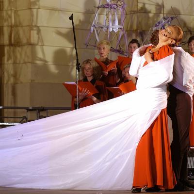 """vokalinė-choreografinė misterija """"Praregėjimas"""", Vilniue 2005"""