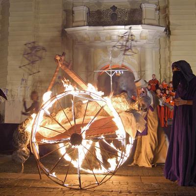 """vokalinė-choreografinė misterija """"Praregėjimas"""", Vilnius 2005"""
