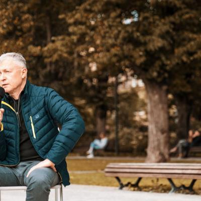 Voxart pokalbiai Lukiškių aikštėje
