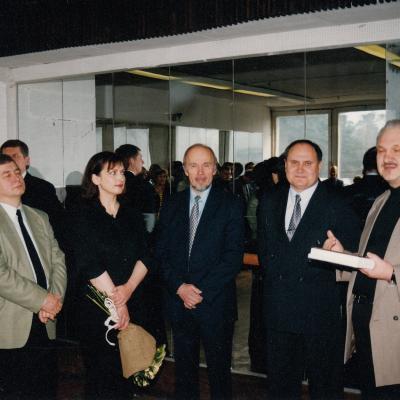 Leiburas, Cechanovičius, Ramonas, Jurkšaitis, Lukošiūnaitė 2001