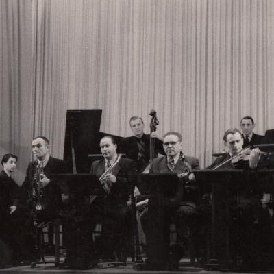 LRT LMO, su akordeonu Benjaminas Gorbulskis