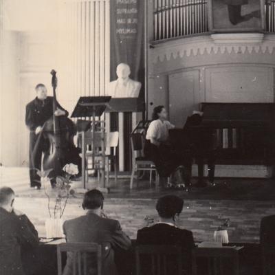 Specialybės egzaminas 1953