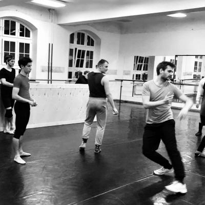 "Šokio spektaklio ""Faustas"" repeticija. J.Lebedevos nuotr."