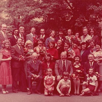 Neakivaizdininkų diplomantų išleistuvės 1980 m.