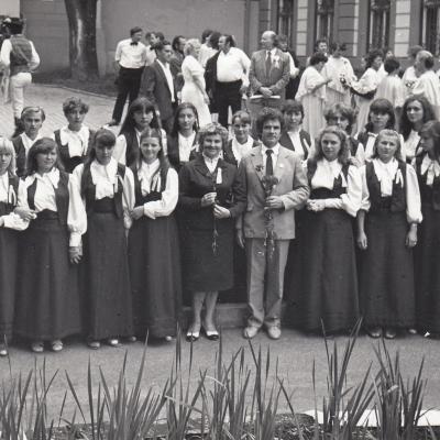 Tallat Kelpšos mokyklos mergaičių choras