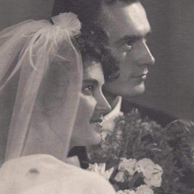 Irenos Jurgelėnaitės ir Algimano Budriūno sutuoktuvės 1963 m.