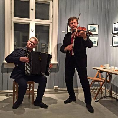 Povilas ir Havard Svendsrud koncertas švyturyje
