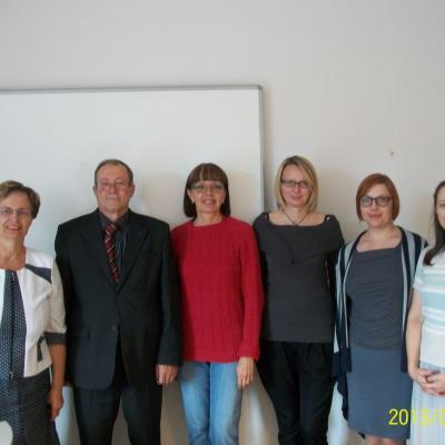 VGTU tobulinimosi kursuose su kolegėmis