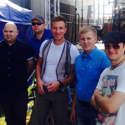 """""""Grupė Karolis Gyvai"""" 2014.08.17 - 14:16"""