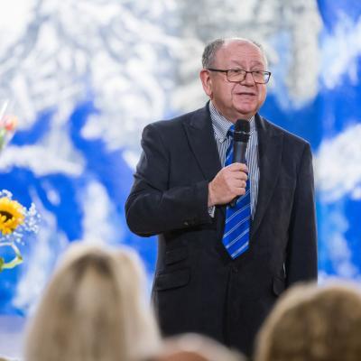 LMS 85-erių metų istoriją ir veiklas pristato LMS tarybos narys prof.habil.dr. Leonidas Melnikas