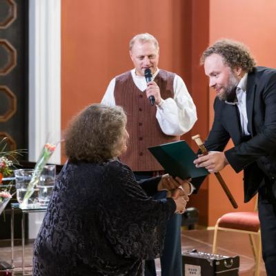AUKSINIO DISKO 2021 laureatas multiinstrumentalistas Saulius Petreikis