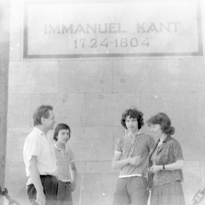Geniušai Karaliaučiuje apie 1975m