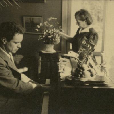 Irena ir Rimas Geniušai prieš daugelį metų