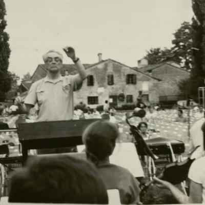 Koncerto Savonlinoje akimirka. 1990 m.