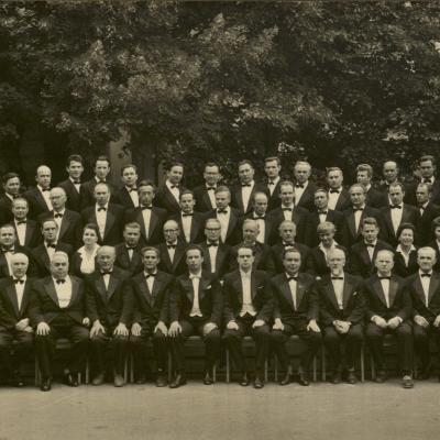 Lietuvos valstybinio operos ir baleto teatro orkestras. 1963 m