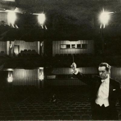 Naujajame Lietuvos operos ir baleto teatre Vilniuje. 1974 m