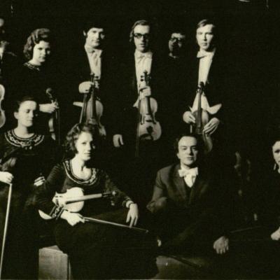 "Prieš J. S. Bacho ""Kavos kantatos"" premjerą, 1978 m"