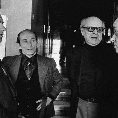 V. Viržonis, J. Aleksa, R. Siparis, R. Geniušas. 1980 m