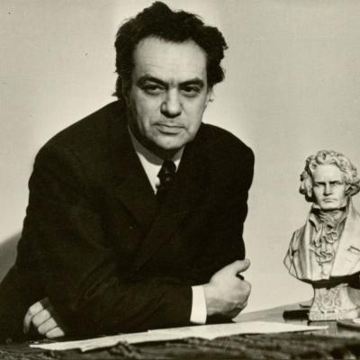 Vienas iš mėgstamiausių R. Geniušo kompozitorių buvo L. van Bethovenas