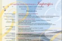 II TARPTAUTINIS FESTIVALIS Impresijos 2017
