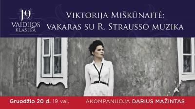 Operos solistė Viktorija Miškūnaitė