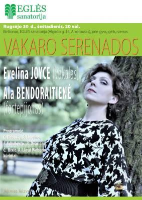 EVELINA JOYCE (vokalas) ir ALA BENDORAITIENĖ (fortepijonas)