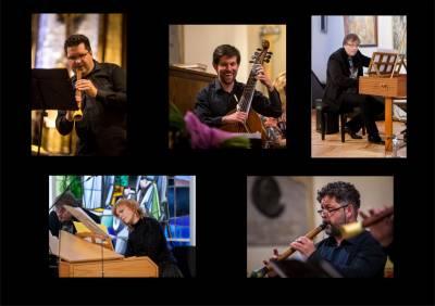 """Tarptatutinis medinių pučiamųjų instrumentų festivalis """"Medynės 2017"""". Ansamblio """"Reversio"""" projektas Corona Aurea (Lietuva ir Lenkija)"""