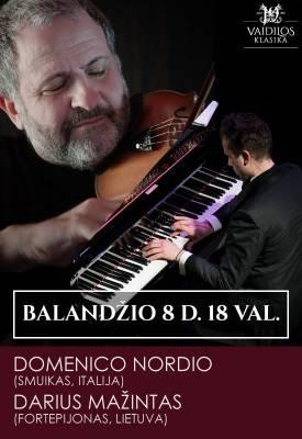 Domenico Nordio (smuikas) ir Darius Mažintas (fortepijonas)