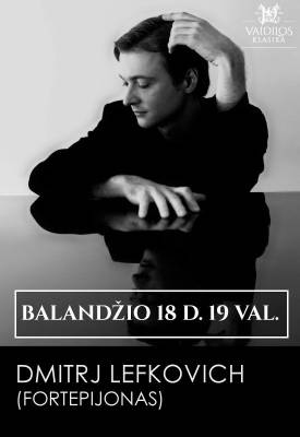 Fortepijono virtuozas Dmitrj Lefkovich